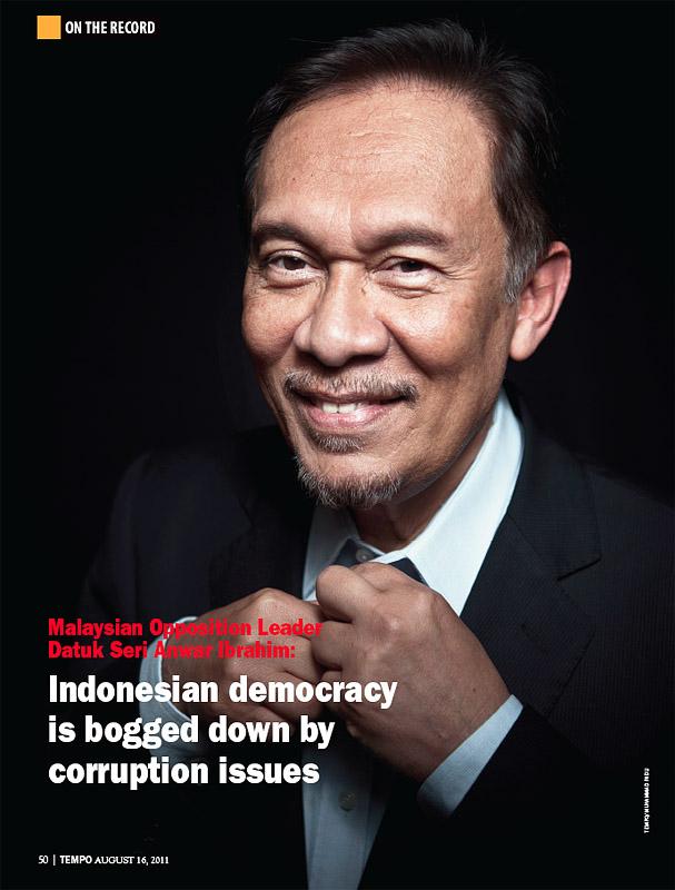 Anwar Ibrahim TEMPO English