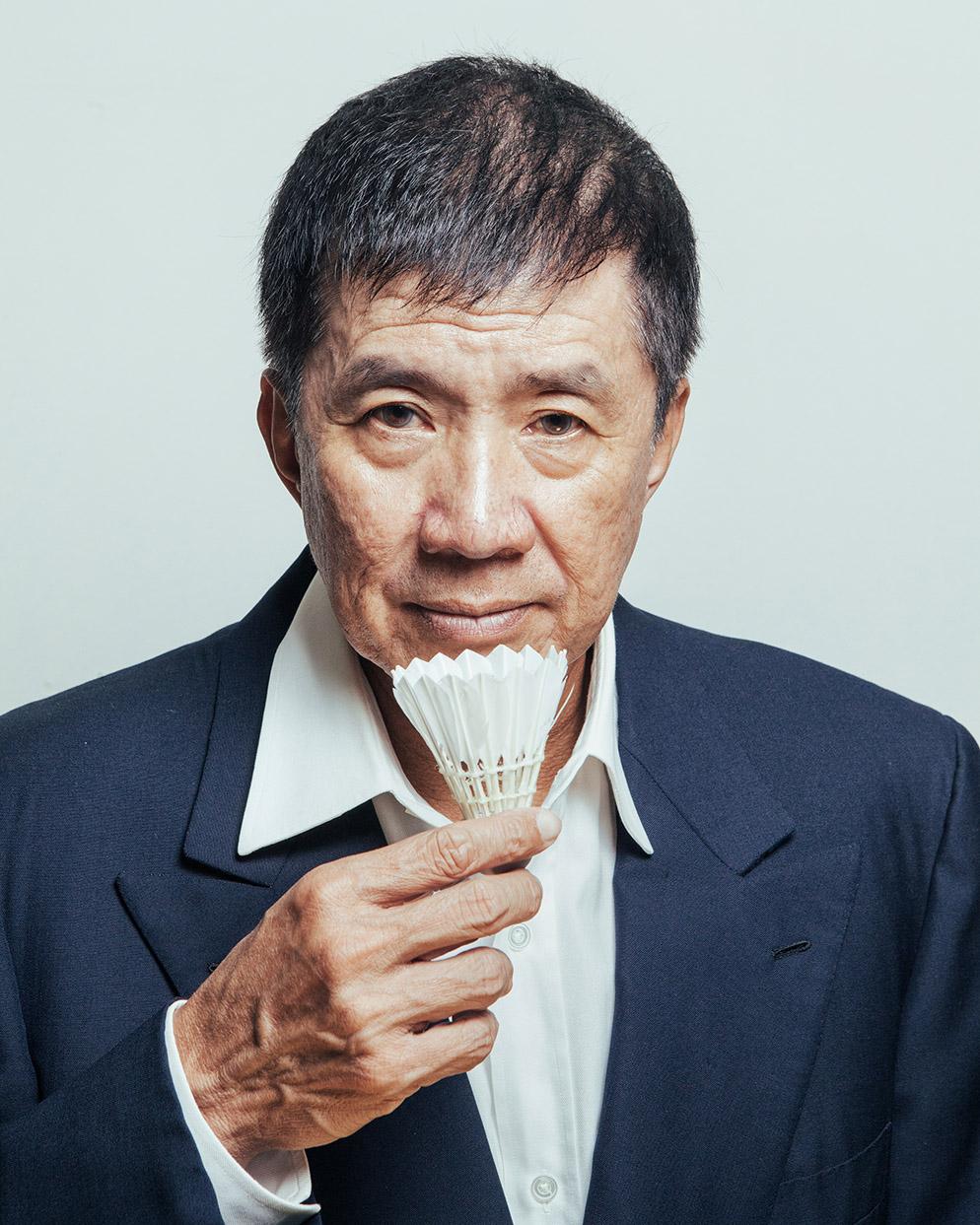 Rudy Hartono. World Champion badminton player.