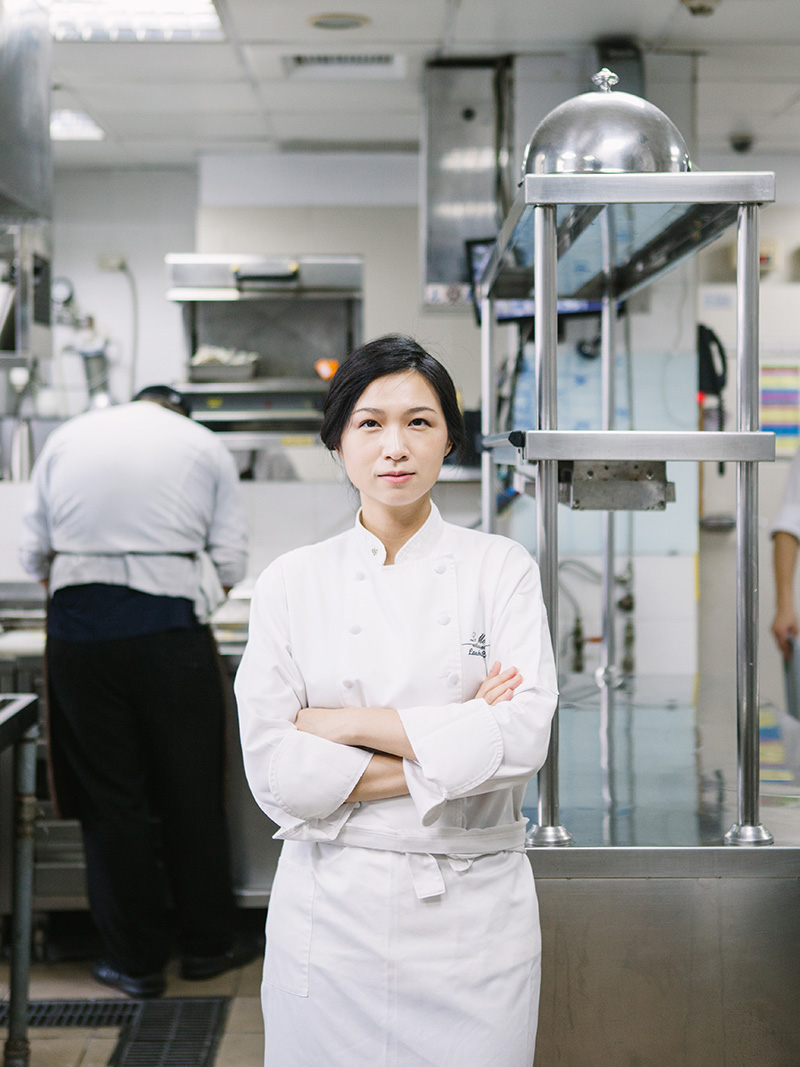 Lanshu Chen, the Asia's Best Female Chef 2014.