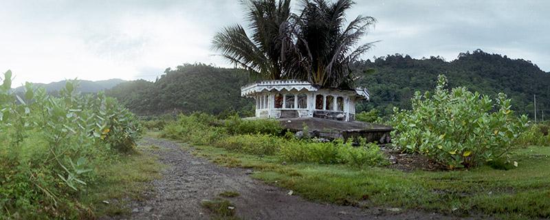 Tsunami relic in Aceh's western coast.