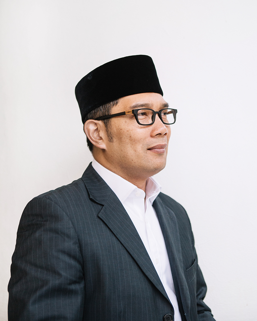 Ridwan Kamil, an Indonesian architect and politician.