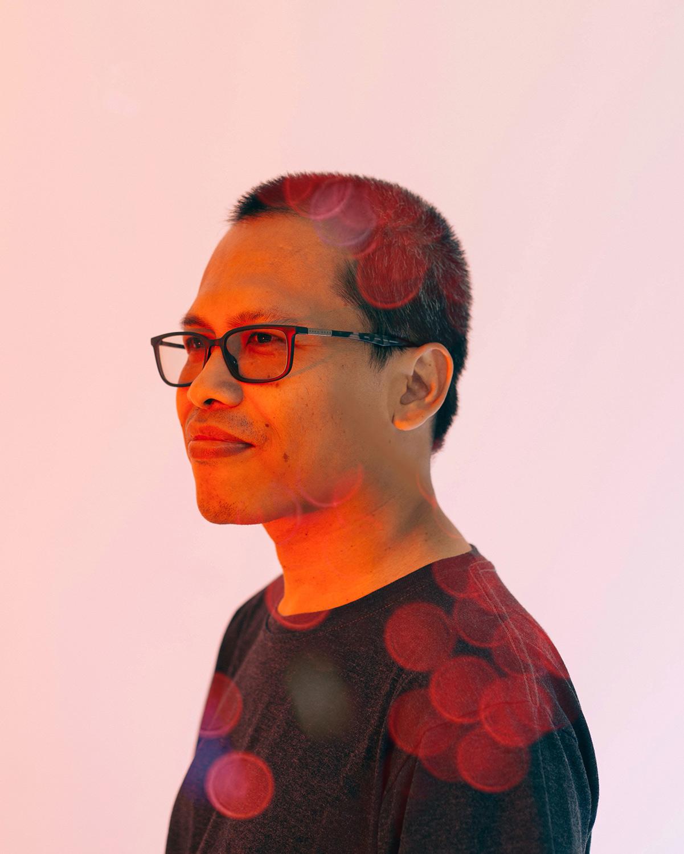 Eka Kurniawan, an Indonesian writer. Author of Beauty is a Wound.