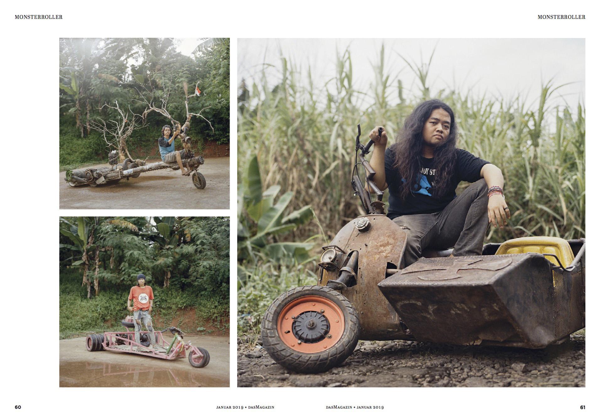 Rebel Riders in Das Magazin, January 2019