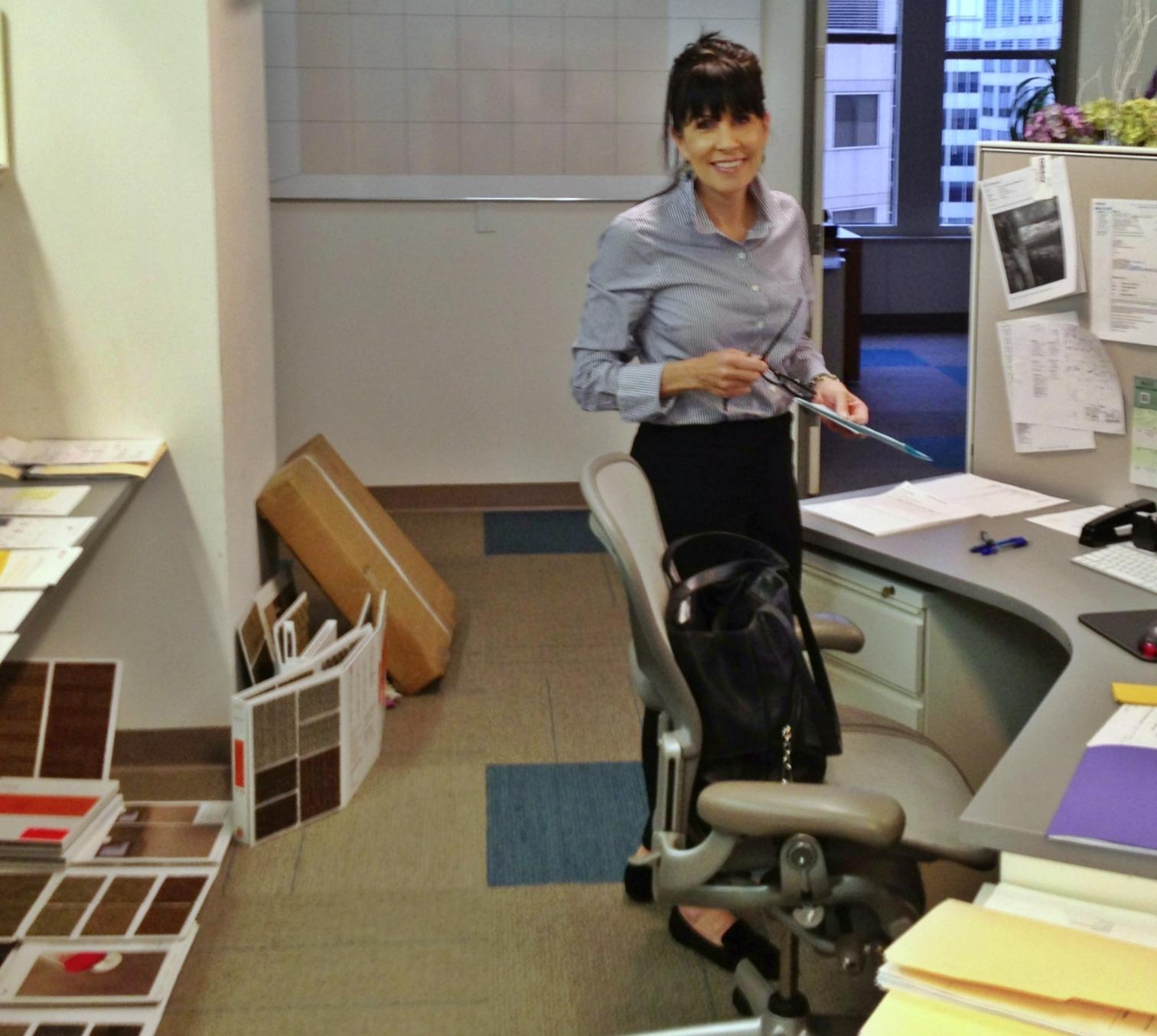 Jolene designing a corporate space, Washington, DC
