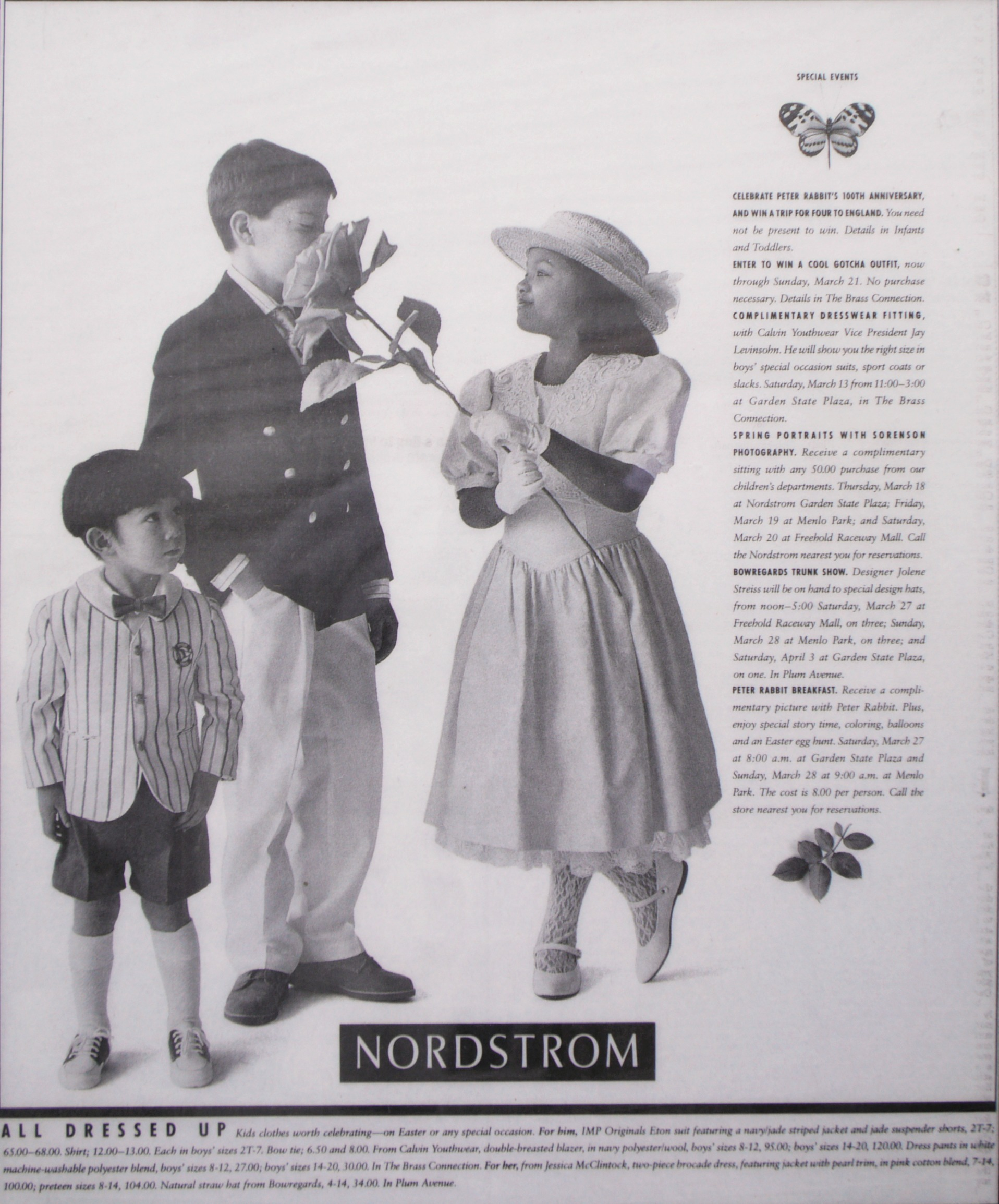 Full page Nordstrom Advertisment