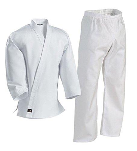 Century Martial Arts White Karate Uniform with Belt - Price:$19.25 - $34.99
