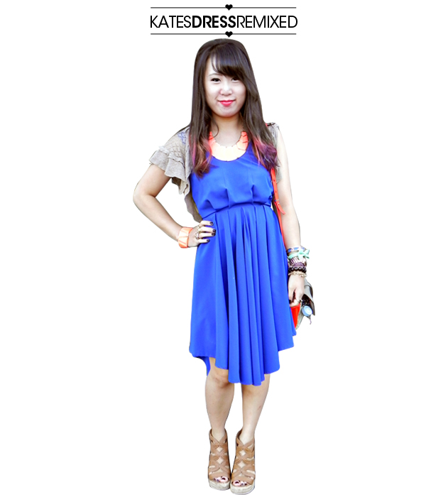 kates dress remixed