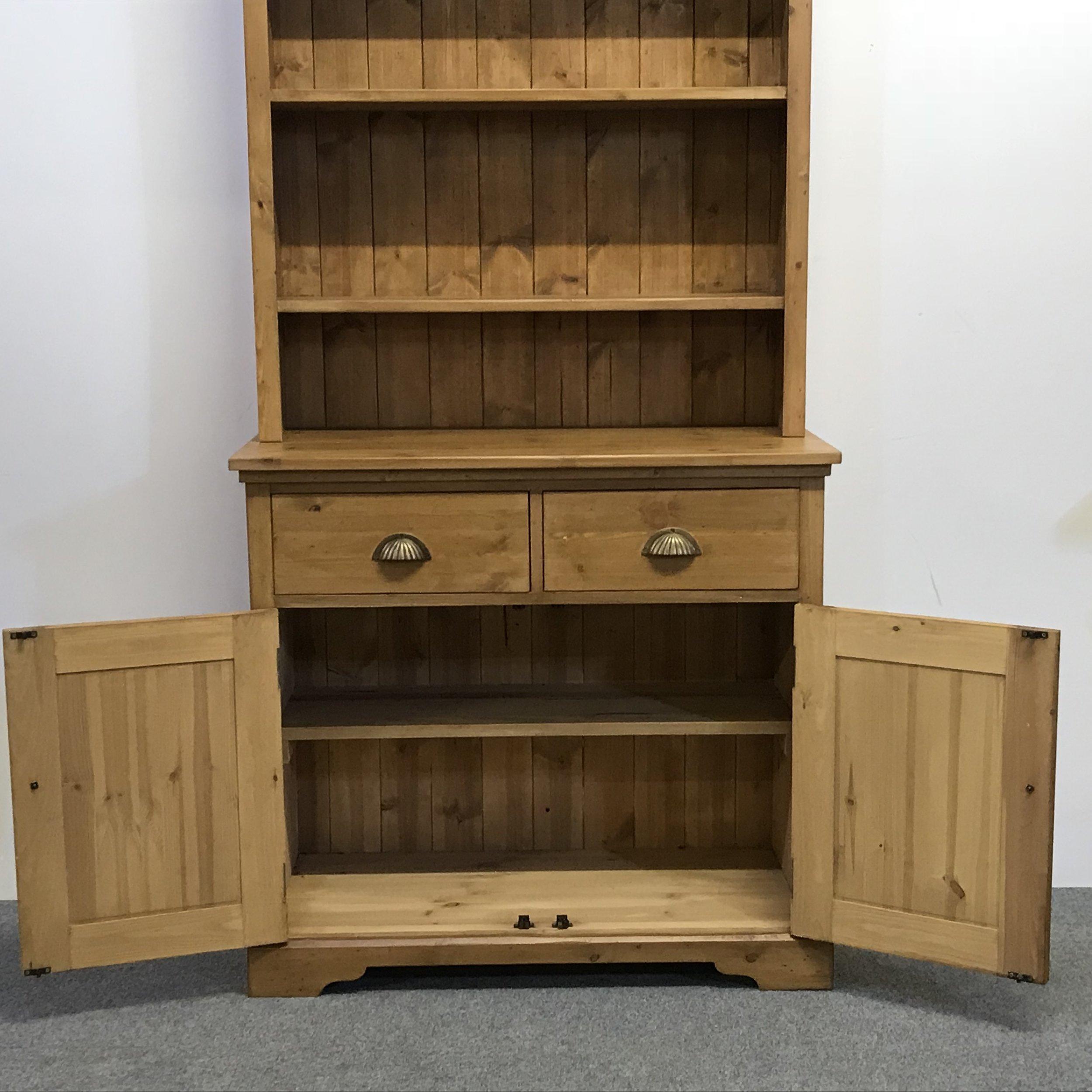 Shelf inside the base
