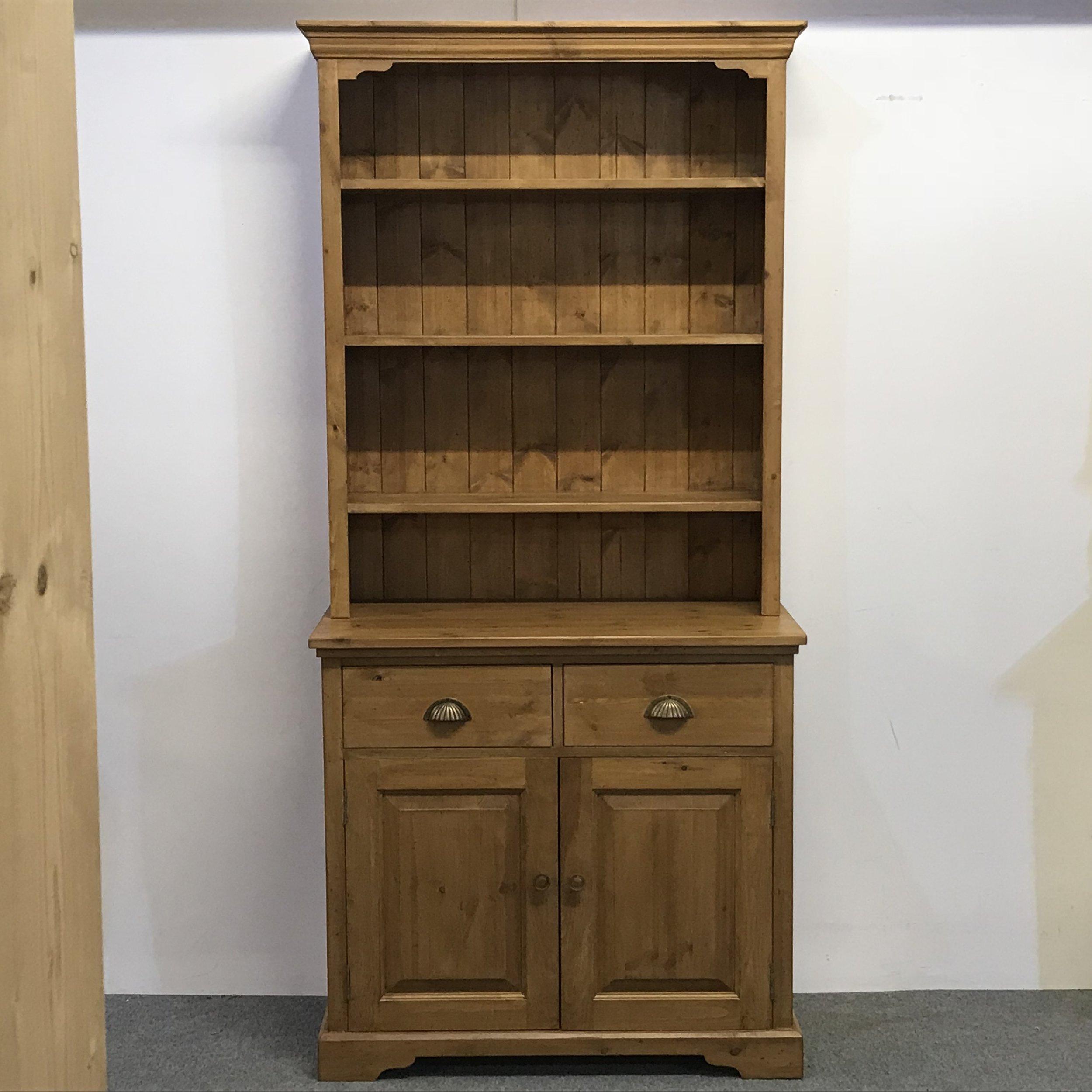 Made to measure 'new pine' dresser