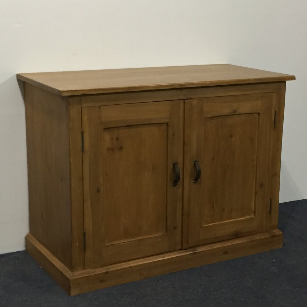 Small cupboard made from new pine