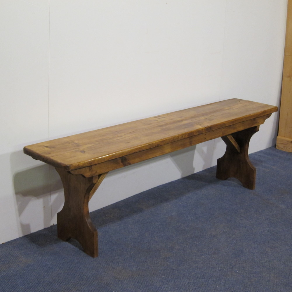made to measure pine bench