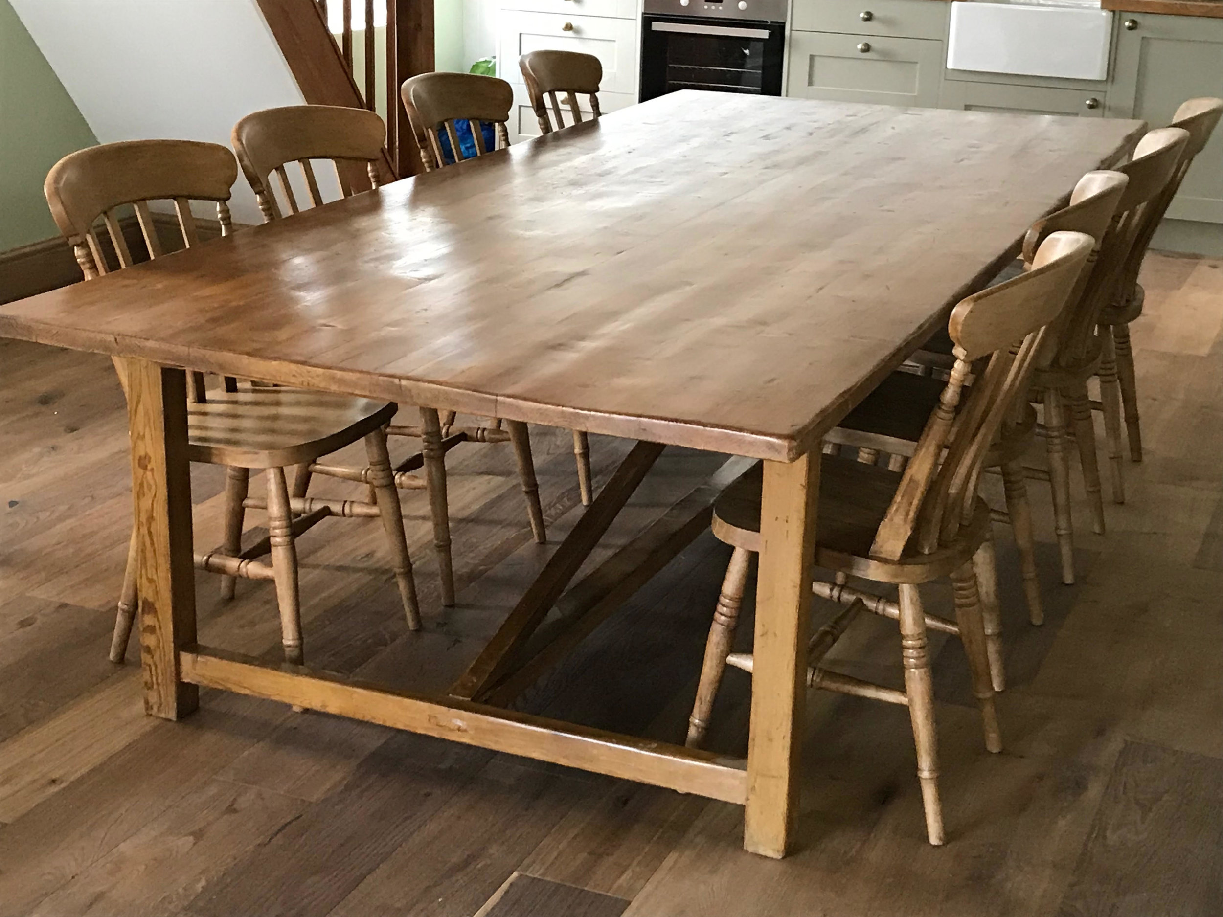 Very Large Pine Refectory Table