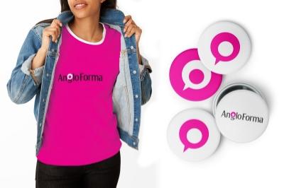 AngloForma logo design by Logo Geek