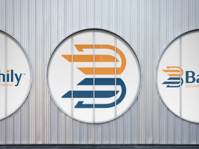 Bathily - Supply chain logo design by Ian Paget