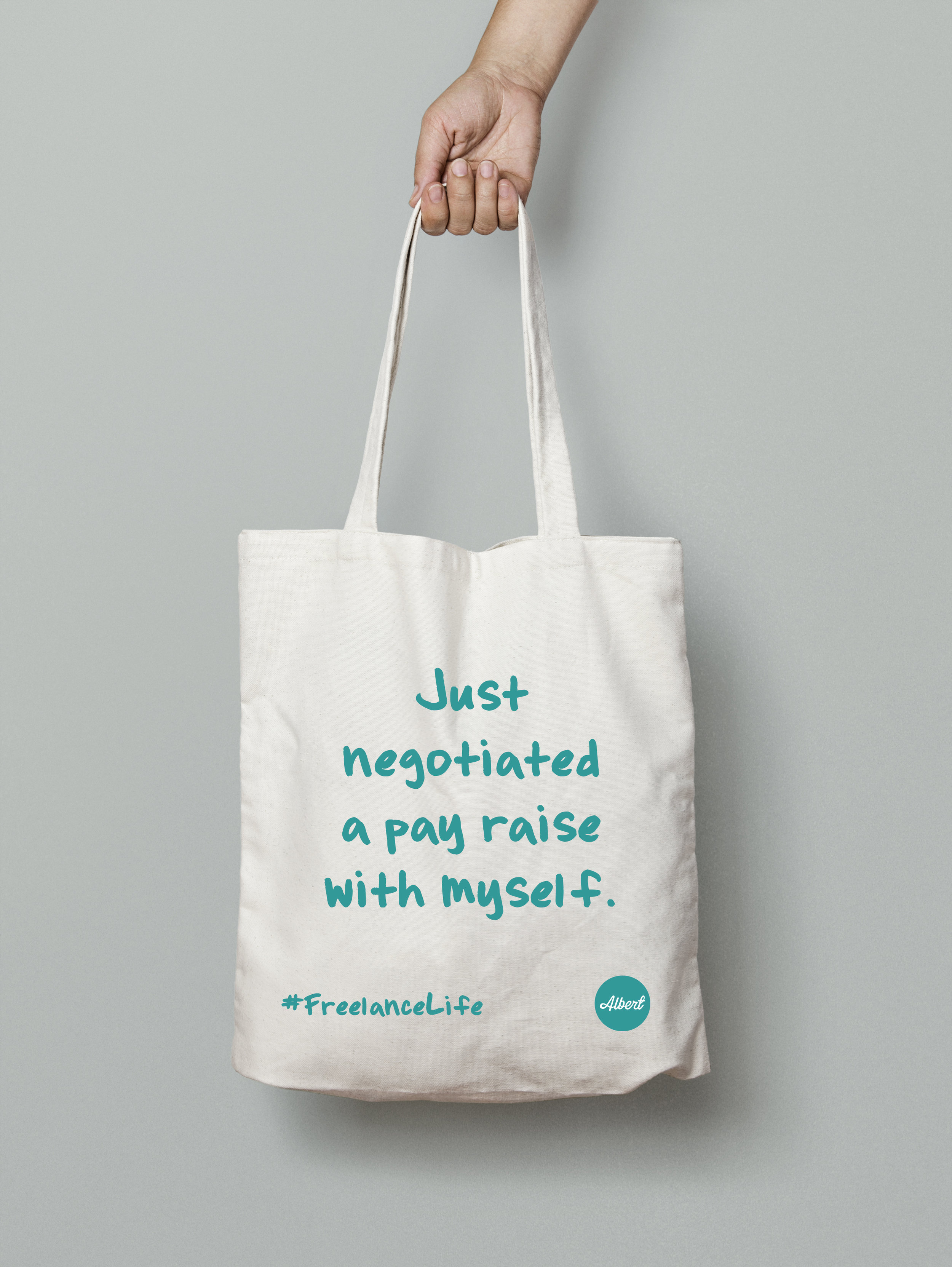 £8.50 - 'Just Negotiated...' - Natural (Turquoise)