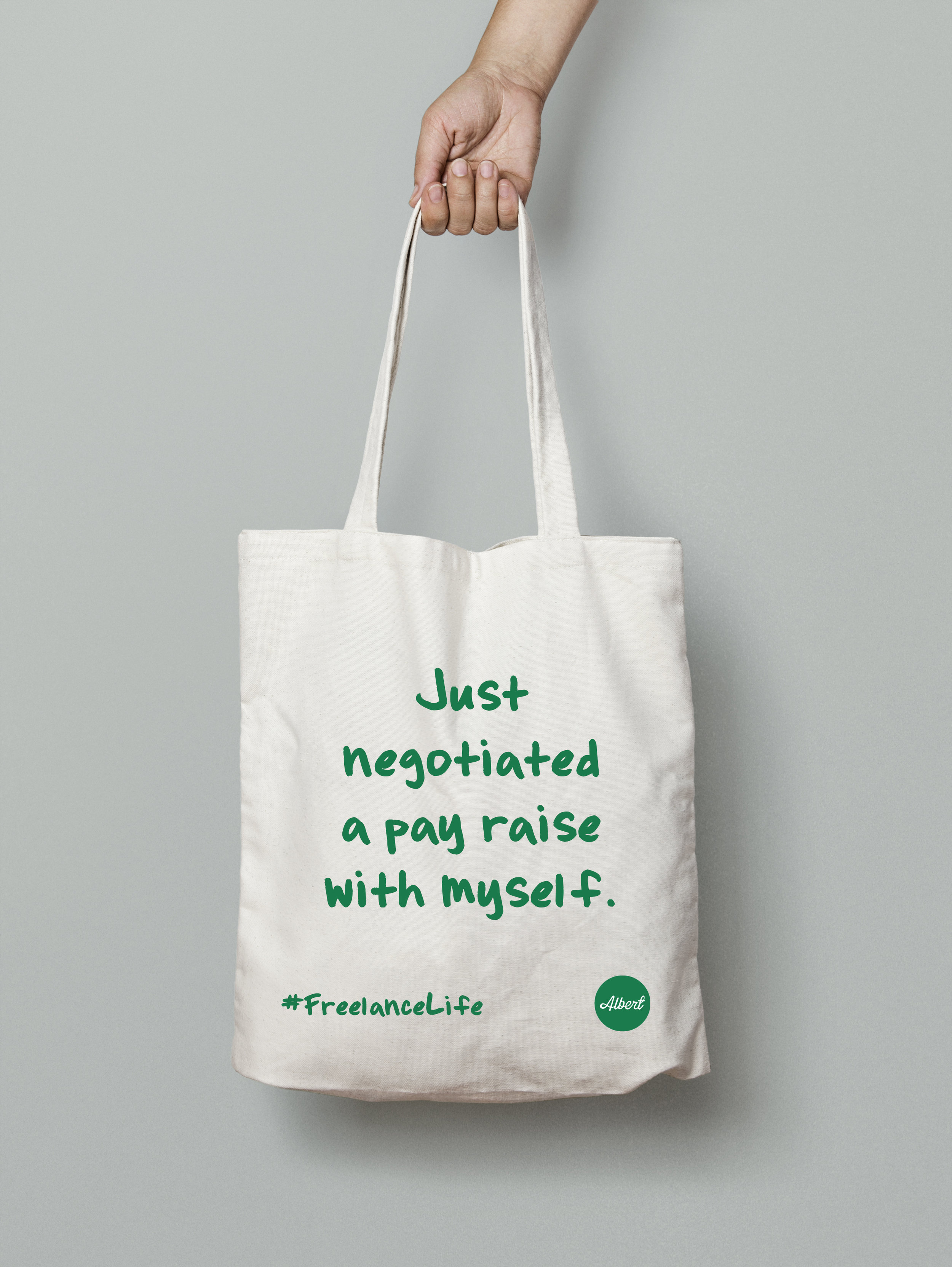 £8.50 - 'Just Negotiated...' - White (Green)
