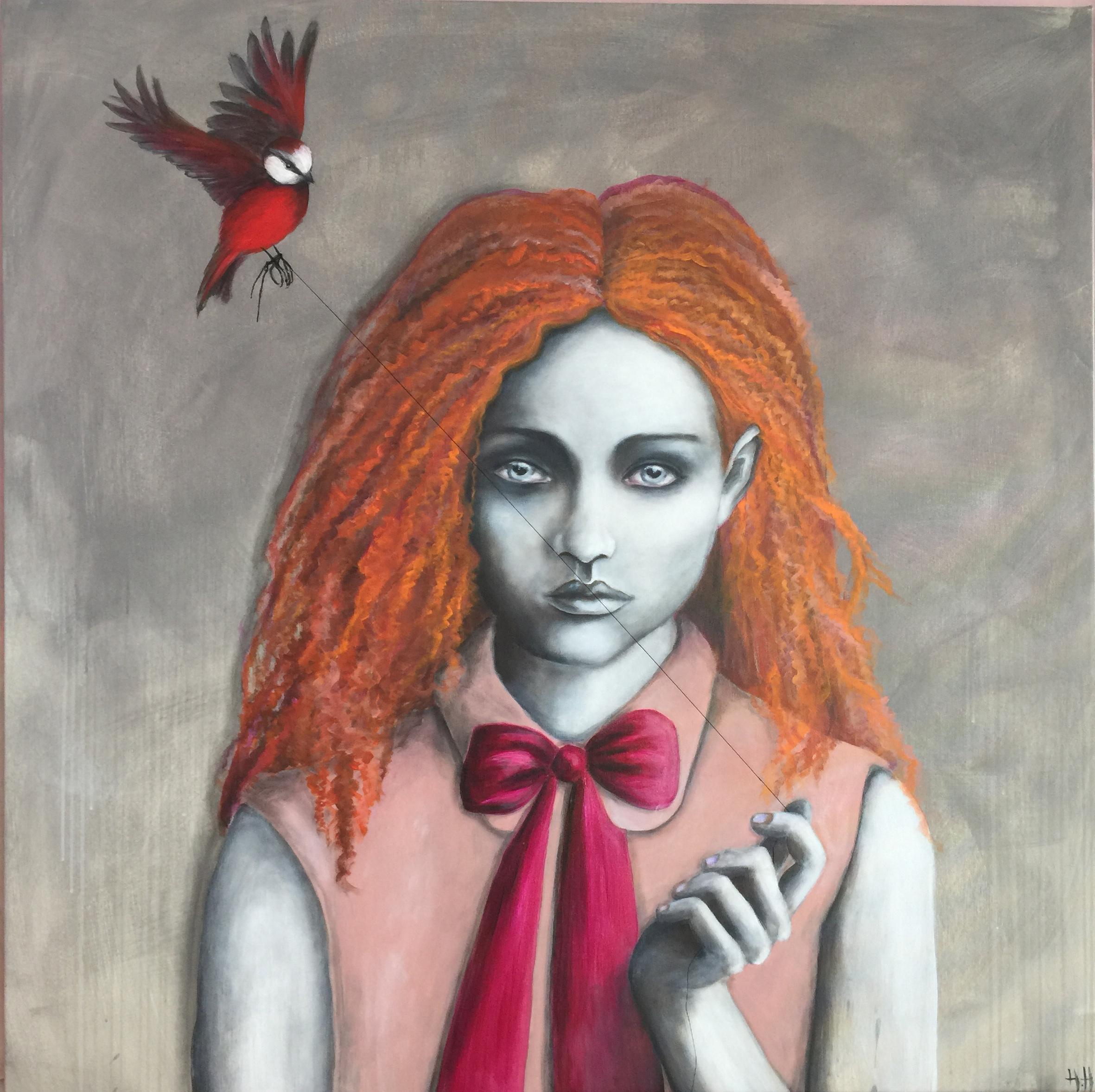 Pigen og fuglen.JPG