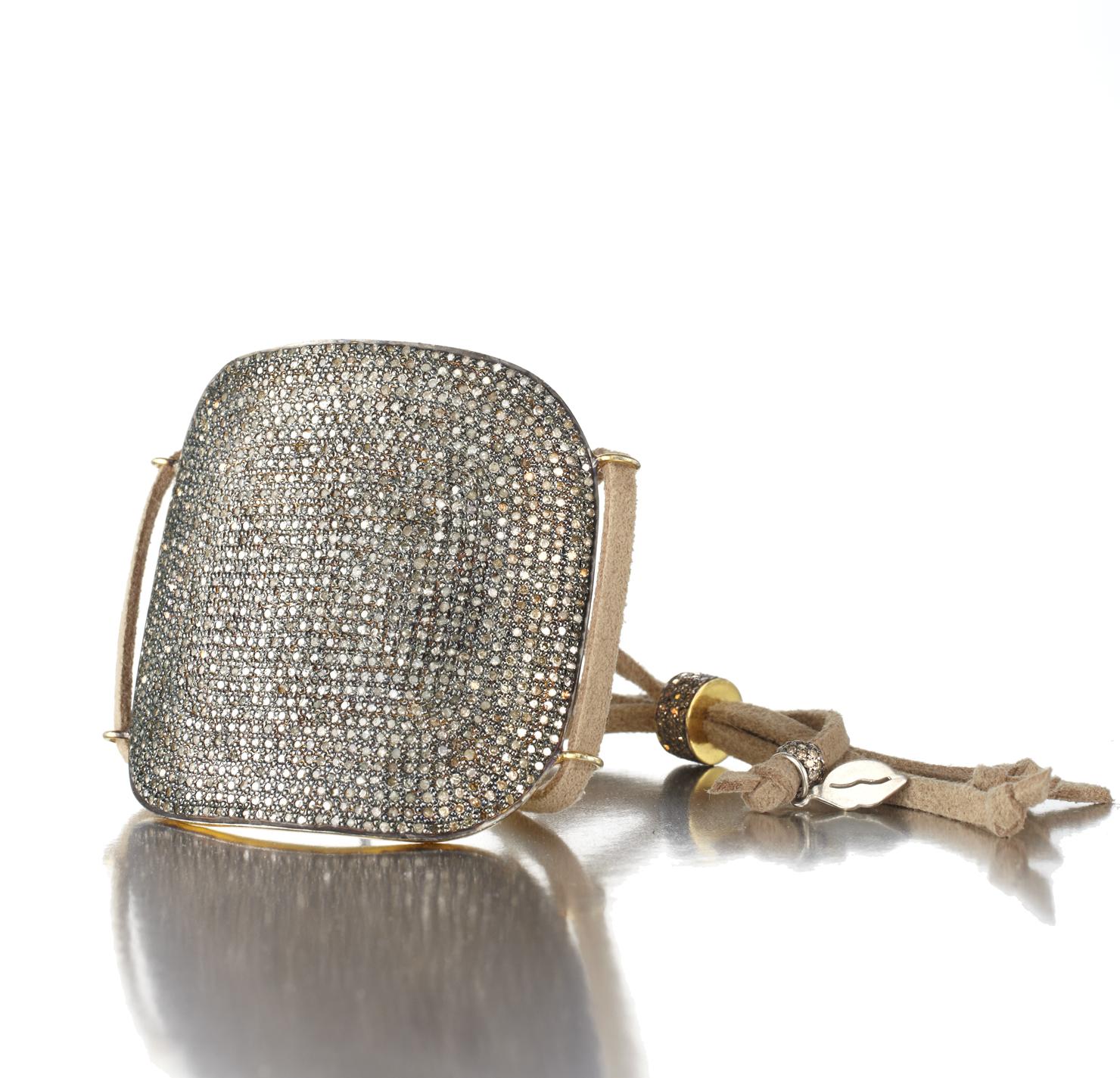 Suede Bracelet with cuff 17672.jpg
