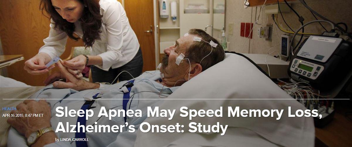 Sleep apnea may speed memory loss and can lead to shortened life span. Springfield Cosmetic Dentist, Dr. Green treats obstructive sleep apnea through physiologic-based dentistry principles.