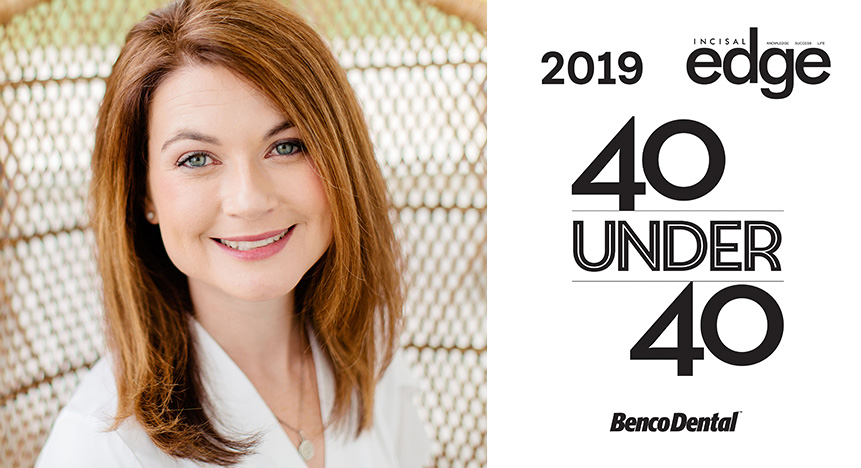 Dr. Randi Green recently selected as 40 Under 40, America's Best Young Dentists honoree by Incisal Edge magazine.