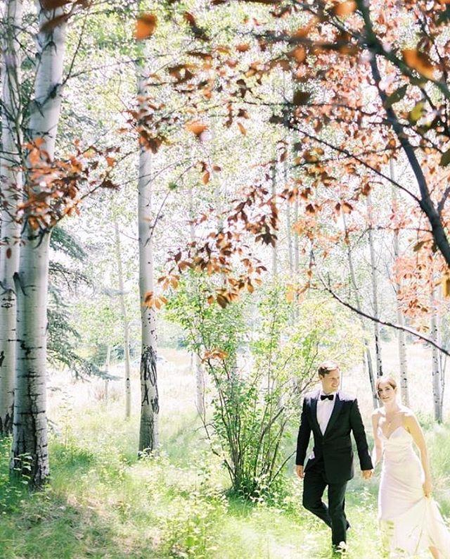 Walking into their fairytale 😍✨ photo: @jamesandschulze #heatherminorevents