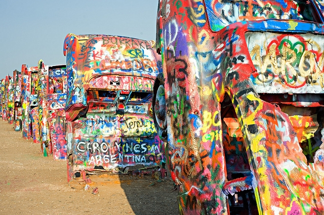 The only thing I knew about Amarillo prior to writing this op-ed was Cadillac Ranch. My family did a lot of long-distance driving between West Virginia and Los Angeles. We didn't stop to paint.