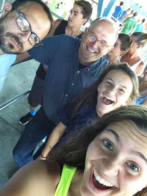 Goofy, pre-Gatekeeper group selfie