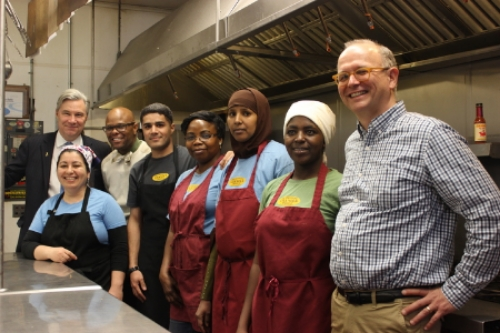 Senator Whitehouse and the whole PGP kitchen crew.