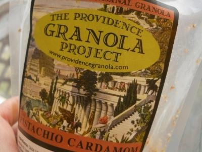The PGP's signature Pistachio Cardamom Granola