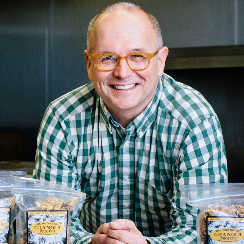 keith, executive director   Keith, who co-founded the Providence Granola Project and now directs Beautiful Day, is our jack-of-all-trades and chief bottle washer. He's still getting used to the idea of becoming social entrepreneur and granola tycoon.