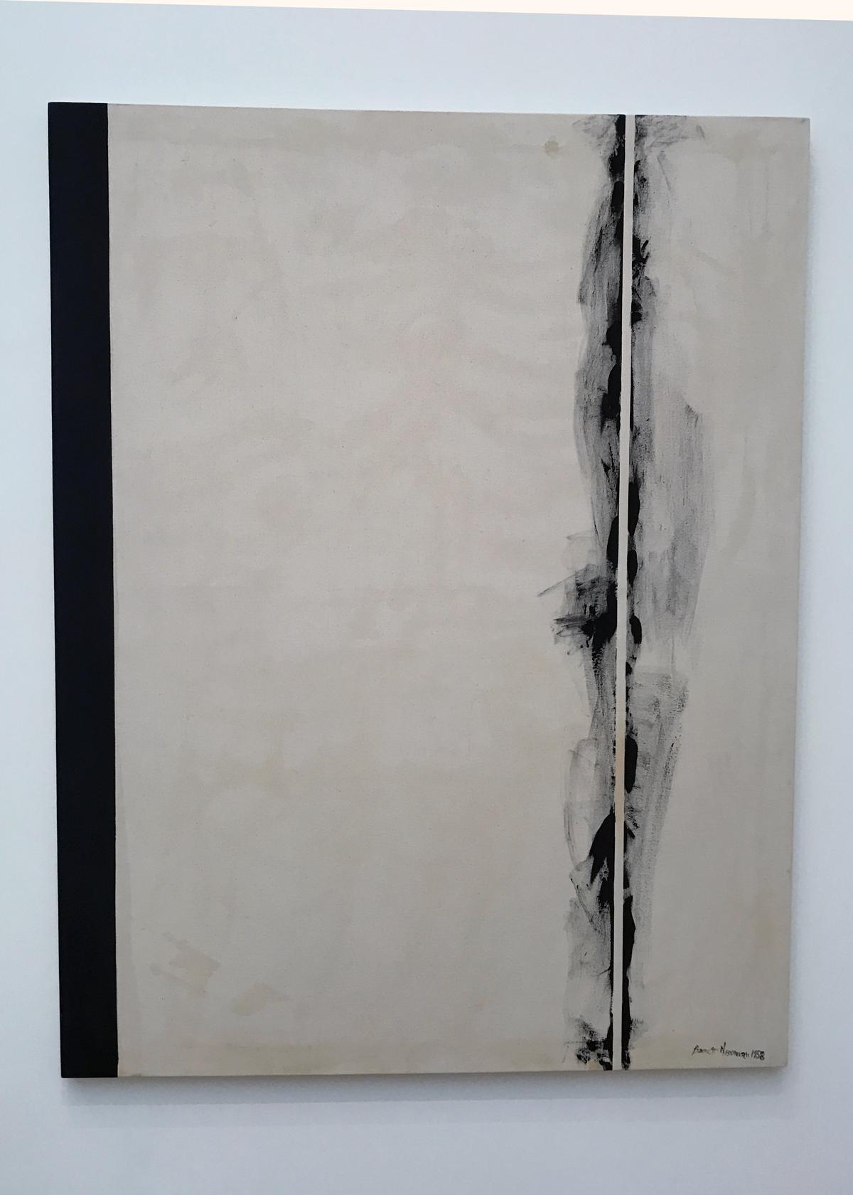 Barnett Newman, Stations of the Cross, Museum of Modern Art in DC