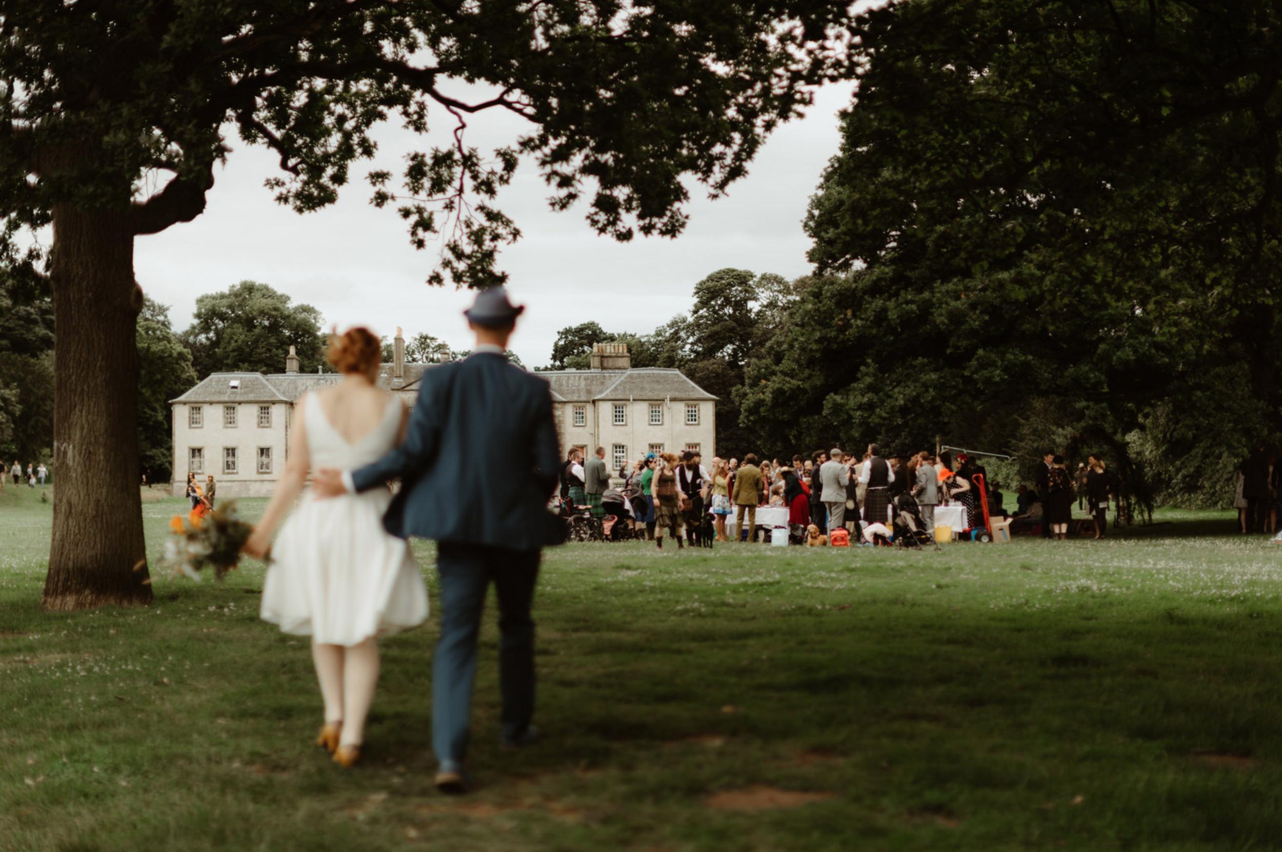THE BIG BAND CARNIVAL WEDDING - PORTOBELLO