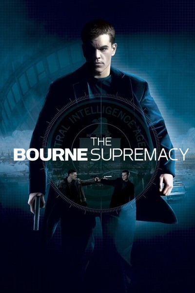 [PG-13] – 2004 – Paul Greengrass – Action, Crime, Thriller Starring: Matt Damon, Franka Potente, Joan Allen When Jason Bourne is framed for a CIA operation gone awry, he is forced to resume his former life as a trained assassin to survive.