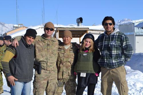 Profiling U.S.-Afghan police training patrol in 2012