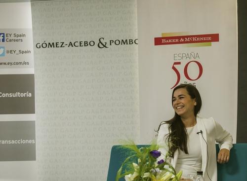 Speaking at the Law School alumni reunion of the Universidad Carlos III in Spain