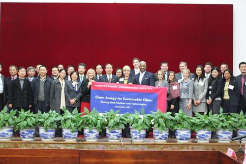 U.S. Mayors and senior officials visit to China