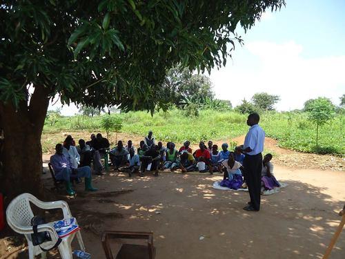 GRG group counseling session, Lamwo district, Uganda