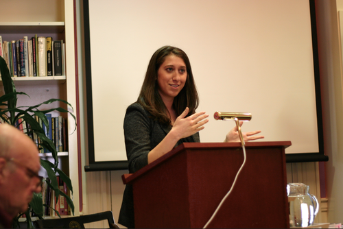 """Presenting paper """"The Limits of International Human Rights Law"""" at Harvard Center for Middle Eastern Studies, Cambridge Massachusetts, May 2013"""