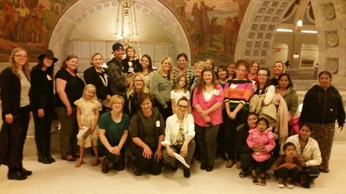USNC UN Women Chapter touring the Utah State Capitol
