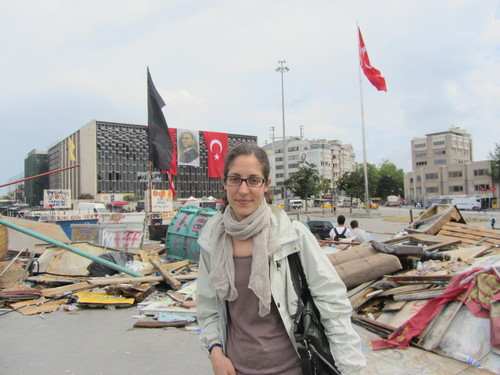 At the Gezi Park protests in June 2013
