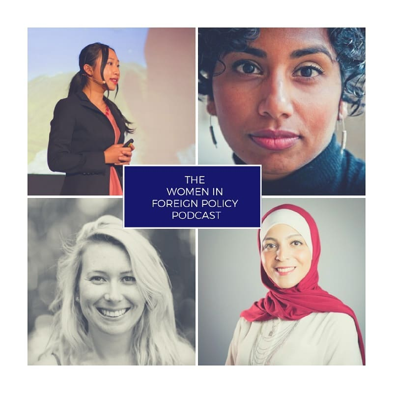 Women in Foreign Policy Trailblazers podcast