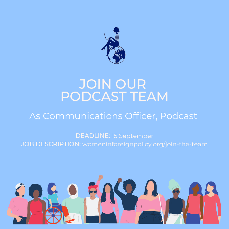 WIFP Podcast communications officer