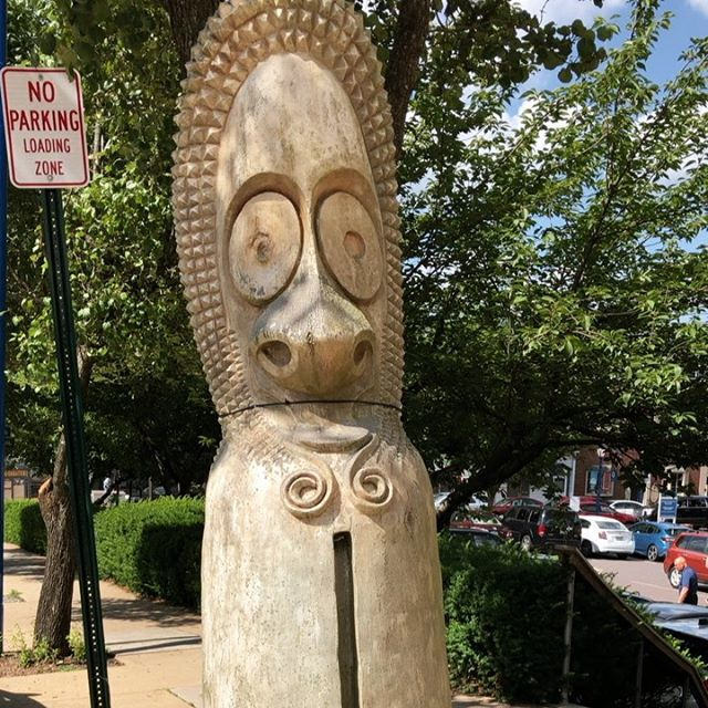 Busy week making serveware for @dibrunobros, @chefjgv, and @joel.robuchon so we apologize for the late notice but tonight at Artifaqt Market we have choripan, hummus, and more tikis!! @dresslerestate won't be here tonight serving their delicious cider (will be back next Friday the 19th) so bring a bottle of wine and come hang! We start serving at 6 and will be here until 10.  See you soon!