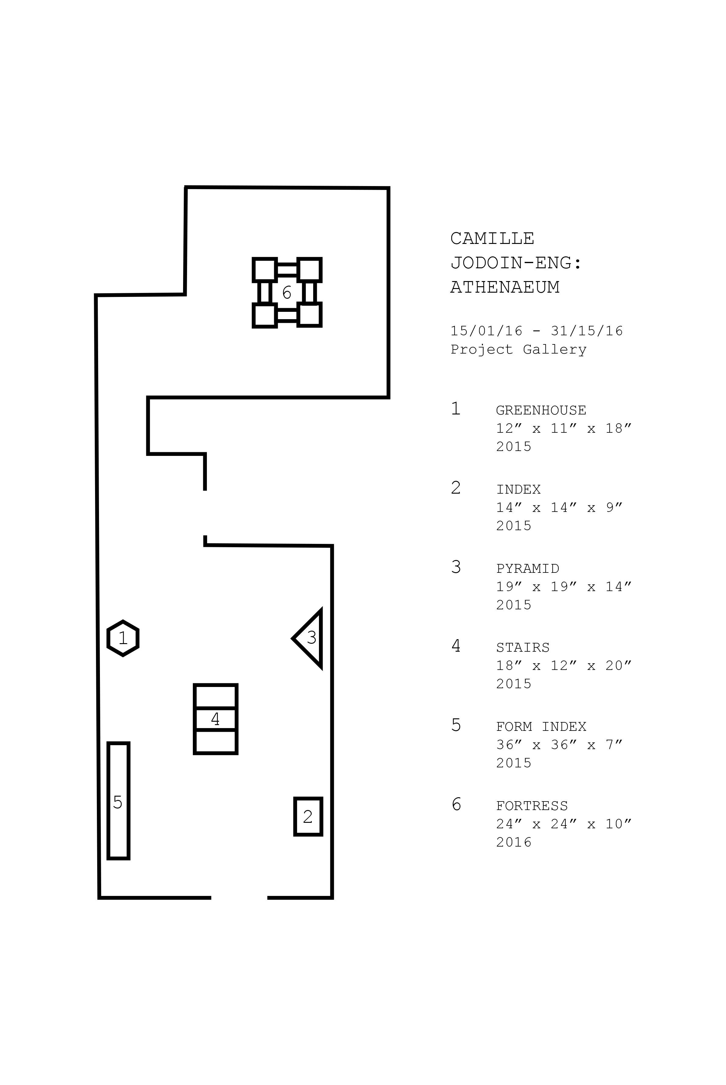 Athenaeum Floor Plan