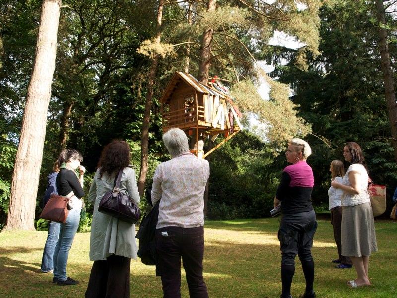 New Ways group visits Tatton Park Biennial