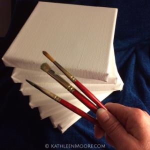 30 Paintings in 30 Days Kathleen Moore