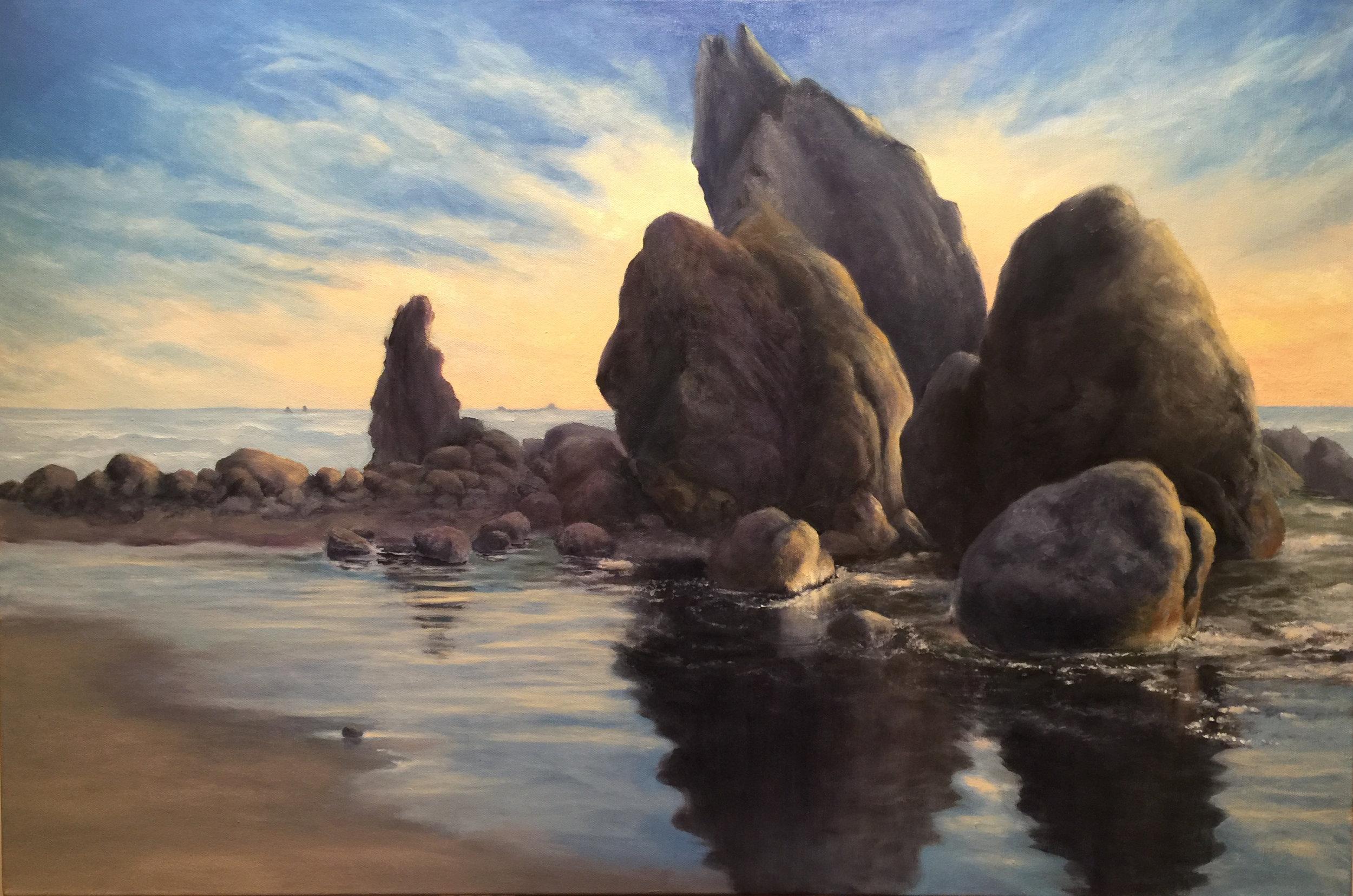 Ruby Beach by Kathleen Moore