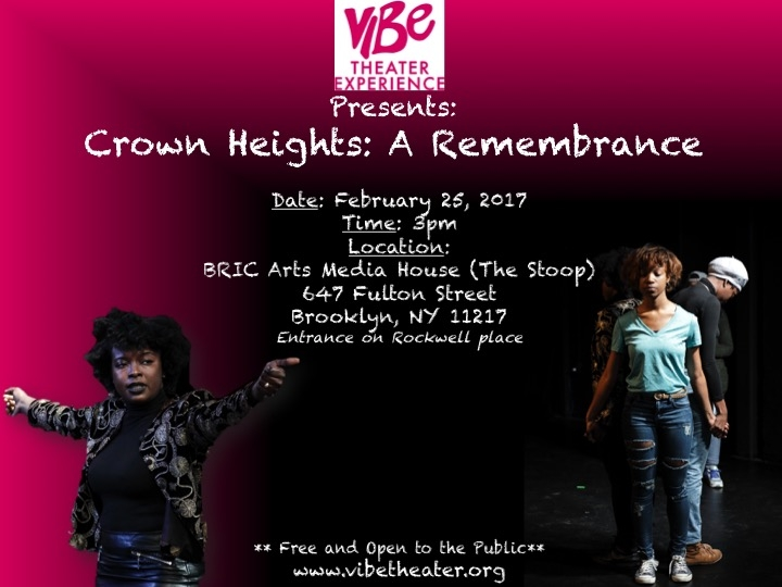 Written and performed by: Khadijah Boney, Nicosie Christophe, Monique Letamendi and Aissatu Young.