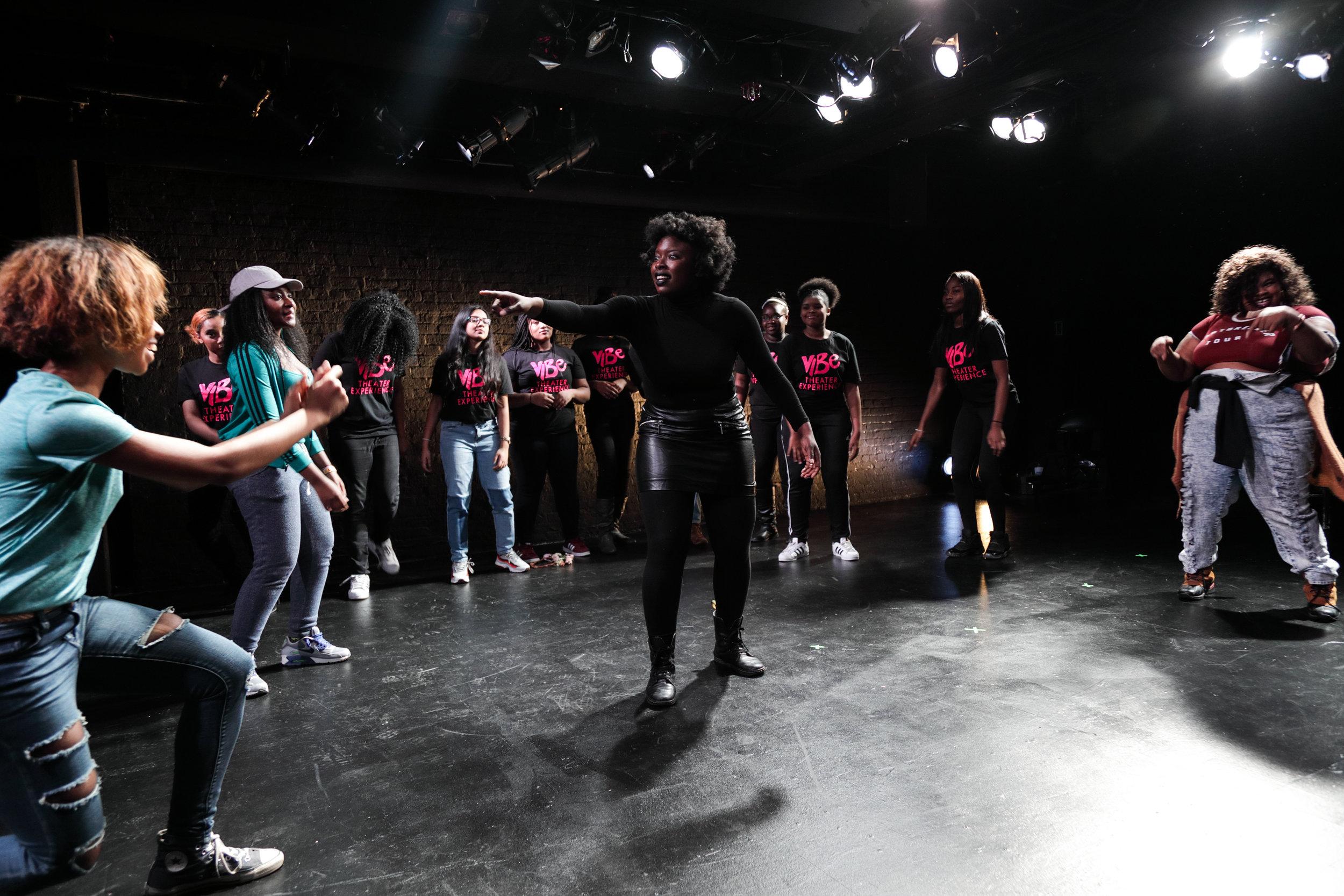 viBe Theater Company, December 2016