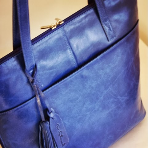 Augusta Tote - stylish and practical as an everyday bag or work tote!